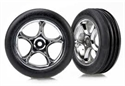 Traxxas Wheel & Tyres Bandit Front (2)
