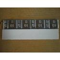 Stick-On Lead Bar 2x(6x10g)