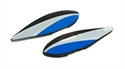 E Flite Wheel Pant Set: UMX Sbach 3D