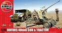 AirFix 1/7Bofors 40mm Gun & Tractor