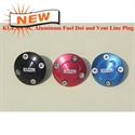 Kuza CNC Alu Fuel Dot -BLUE