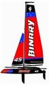 JoysWay Binary sailboat 400mm RTR (Red)