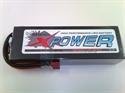 Li-Po 7.4V 6000mAh 100C HC X-Power-Hardc