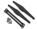 Vaterra Rear Upper & Lower Tracjk Rods: Twin Hammer