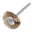 Mini Brass Brush Wheel 19.1mm (TC08364)