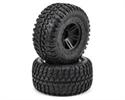 ECX Front&Rear Tire, Premounted Black (A