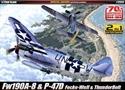 Acadamy 1/72 P-47D & FW190A-8