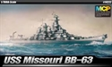 Acadamy 1/700 USS Missouri
