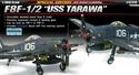 Acadamy 1/48 F8F 1/2 USS TARAWA