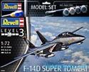 Revell (SET) 1/72 F-14D Tomcat