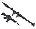 Riffle & Mortar Gun 1/10