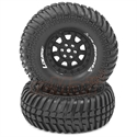 "CR Ardent 1.9"" Crawler Tire Super Soft Black Rim (2)"