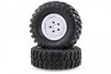 HSP 1/10 RGT Crawler Wheels White (2)