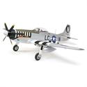 E Flite P-51D Mustang 1.2m BNF Basic AS3X/Safe