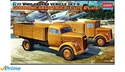 Acadamy 1/72 German Cargo Truck