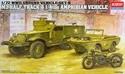 Acadamy 1/72 M3 US Half Truck & 1/4 Ton