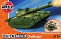 AirFix QuickBuild Challenger Tank
