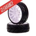 Himoto Wheel & Tyre  (2) 1/16