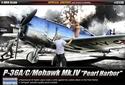 "Acadamy 1/48 P-36A/C Mohawk Mk.IV ""Pearl Harbour"""