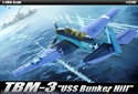 "Acadamy 1/48 TBM-3 ""USS Bunker Hill"""