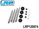 LRP Shock Shaft + Shock Piston (F&R) S10