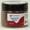 Humbrol Dark Earth Weathering Powder 45ml