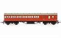 Hornby ex-LMS 57' Suburban Non-Corridor Brake Third inBR Crimson