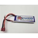 Li-Po 7.4V (2S) 1800mAh 25/30C (Deans) X-Power