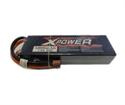 Li-Po 7.4V (2S) 6800mAh 50C (Deans) Hardcase X-Power